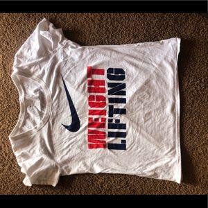 Nike USA weightlifting shirt